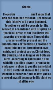wedding sayings for and groom christian wedding vows exles for groom and christian