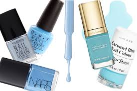 10 light blue nail for summer 2015 the salad