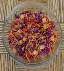 blue starr gallery sweet u0026 sour pineapple coleslaw