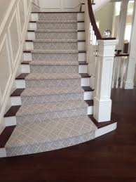 install carpet runner wood stairs home stair design