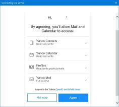 yahoo mail how to set up a yahoo email account in the mail app on windows 10