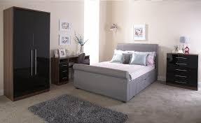 Milan Bed Frame Bed Company Alabama 4ft 6 Fabric Bedframe