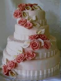 wedding cake gum gumpaste flower cascade for wedding cake diy wedding cake