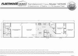 single wide mobile home floor plans fleetwood mobile homes floor plans fresh single wide mobile homes