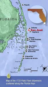 florida shipwrecks map san jose shipwreck is a florida diving paradise