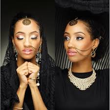 di ja stuns in ankara styled braids by ivorian artist lati
