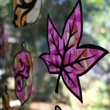 Kids Stained Glass Craft - tissue paper stained glass windows tissue paper glass and