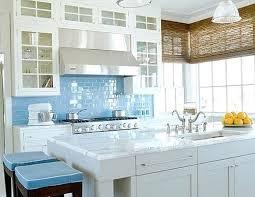 Glass Backsplash Tile For Kitchen Blue Backsplash Tile Bikepool Co
