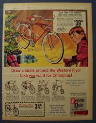 1965 western flyer bike u0026 little boy coming downstairs holiday