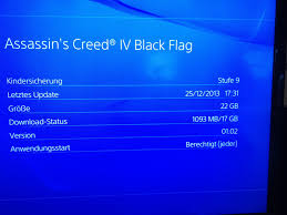 Blue And Black Flag Probleme Nach Ps4 Upgrade Forums