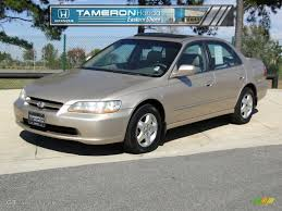 honda cars 2000 2000 naples gold metallic honda accord ex v6 sedan 55906363