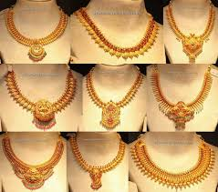 light weight gold necklace designs gold necklace latest indian jewelry jewellery designs