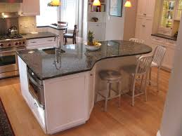 rounded kitchen island kitchen island with curved countertop ellajanegoeppinger