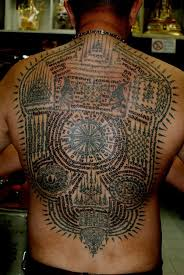 amazing sak yant tattoo for men tattoos for men