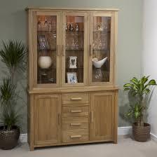 solid oak china cabinet opus oak display unit welsh dresser oak furniture uk