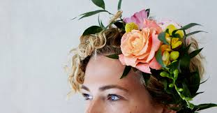 floral headbands diy flower crown how to make your own floral headbands