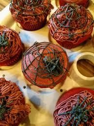 red velvet halloween cupcakes torten pinterest halloween