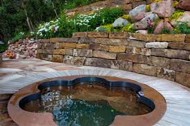 Deep Backyard Pool by Outdoor Spas Tubs Baths Diamond Spas