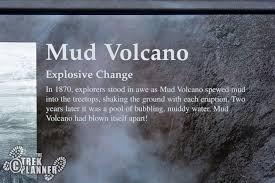 mud volcano u2013 yellowstone national park the trek planner