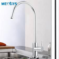 filter faucets kitchen meotiys mini swan neck water filter tap single handle