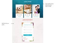 wedding rsvp websites we design wedding day websites