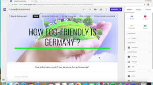 eco site how eco friendly is germany a google site by patricia grund