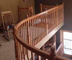 Curved Handrail Precision Pine Inc Your Source For Stair Parts Knoxville Stair