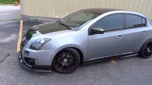 nissan sentra blue 2010 2008 nissan sentra turbo show car forsale youtube