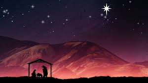 christmas manger christmas nativity background joseph and baby jesus in a