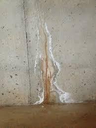backyard basement wall leak basement wall leak fix u201a basement