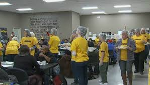 Guiding Light Church Groups Serve Up Free Thanksgiving Meals In W Mi Woodtv Com
