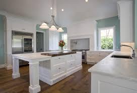 cuisine bi couleur cuisine blanche 36 idées de luxe pour une cuisine design