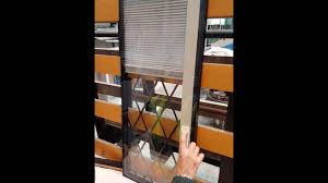 integral blind within leaded double glazed unit youtube