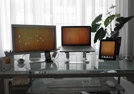 mac laptop holder for desk mac setups macbook pro apple cinema display ipad