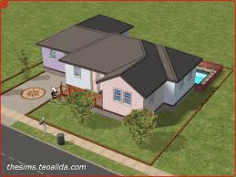 American Small House Sims 2 Small House Ideas