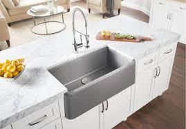 blanco meridian semi professional kitchen faucet excellent kitchen blanco ikon 33 apron front meridian semi