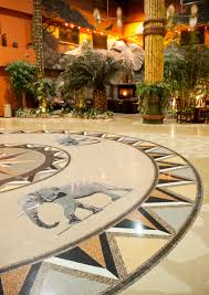 fun terrazzo flooring at the kalahari resorts terrazzo contractor