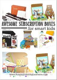 gifts for gifted kids awesome subscription boxes