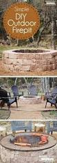 How To Build A Square Brick Fire Pit - 31 insanely cool ideas to upgrade your patio this summer corner