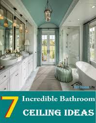 bathroom ceiling ideas 7 bathroom ceiling ideas diy home creative