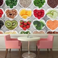 decor mural cuisine fruit vegetable wall mural food wallpaper kitchen cafe photo
