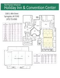 convention floor plan explore springdale click the image below link printable pdf flexible meeting options available northwest arkansas convention center and holiday