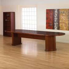 12 ft conference table brand new ofd studio series 10ft cherry wood veneer racetrack top