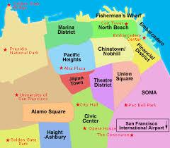 imagenes satelitales live mapas de san francisco california planos calles barrios