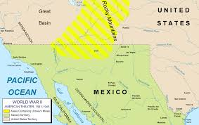 Mexico On Map Alternate History Weekly Update Map Monday American Theater