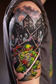 ninja turtle tattoos pretty awesome tmnt teenage mutant ninja
