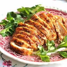 roasted spice rubbed turkey breast