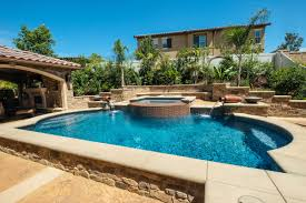 Backyard Pools And Spas by Geometric Pools And Spas U2013 Sunset Outdoor Creations