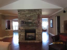 two sided fireplace insert binhminh decoration