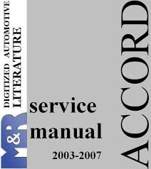 2004 honda accord owners manual pdf 2003 2007 honda accord and accord tourer chassis cl7 cl9